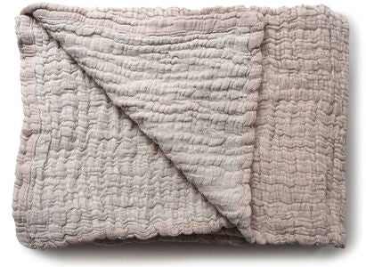 Garbo&Friends Decke 160x260 Quilted Mellow Tawny