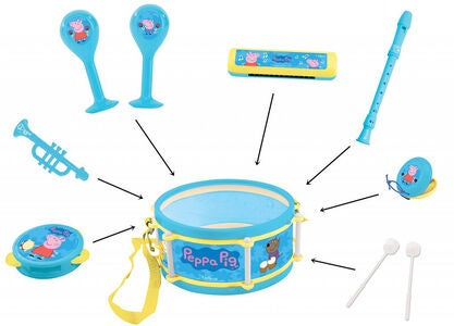Peppa Wutz Musikinstrument 7-in-1