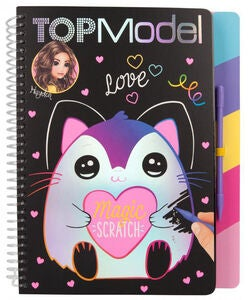 TOPModel Magic Scratch Buch, Bastelbuch