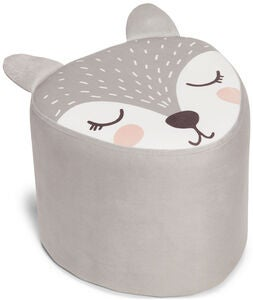 Alice & Fox Sitzhocker Fox, Grey