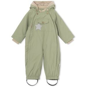 Mini A Ture Wisto Overall, Oil Green