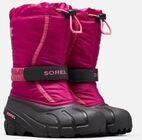 Sorel Youth Flurry Winterstiefel, Deep Blush/Tropic Pink