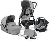 Kinderkraft MOOV 3-in-1 Travelsystem, Grey