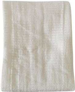 BabyDan Cotton Decke White