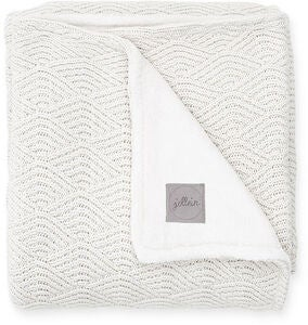Jollein Decke River Knit 75x100cm, Cream White
