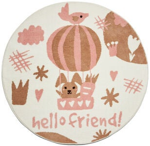 Alice & Fox Teppich Hello Friend 120 cm