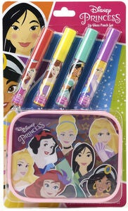 Disney Princess Lipgloss & Kulturbeutel Set