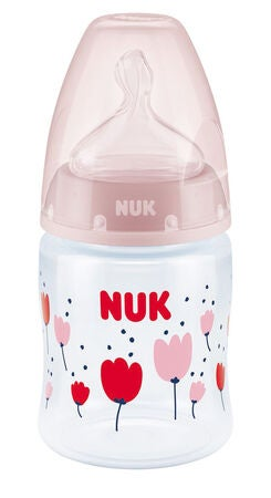 NUK First Choice+ 150 ml Babyflasche, Rosa