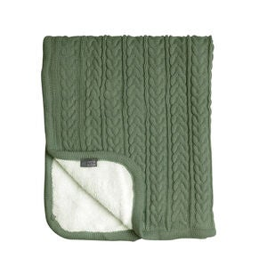 Vinter & Bloom Decke Cuddly, Forest Green
