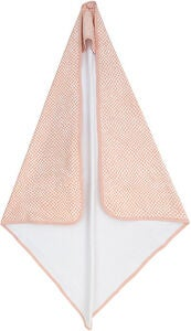 Jollein Badecape 75x75 cm Snake, Pale Pink