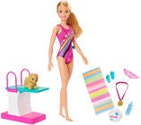 Barbie Dreamhouse Adventures Puppe Swim 'n Dive