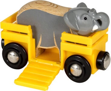 BRIO World 33969 Elefant und Wagen