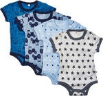 Pippi Body 4er-Pack, Blau