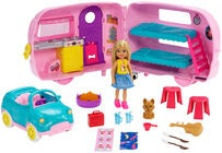 Barbie Club Chelsea Puppe With Camper & Accessories
