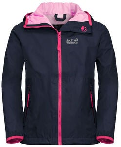 Jack Wolfskin Rainy Days Regenjacke, Midnight Blue