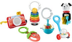 Fisher-Price Tiny Take-Alongs Geschenkset