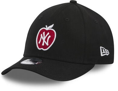 New Era MLB 9Forty Kids Kappe, Black/White Scarlett