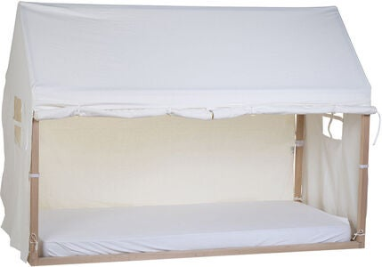 Childhome Bettbezug Haus 90x200, White