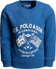 U.S. Polo Assn. Challenge Cup College Pullover, Delft Marl