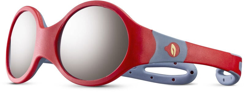 Julbo Loop M Spectron 4 Baby Sonnenbrille, Red/Grey
