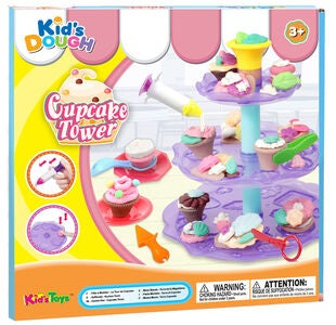 Kid's Dough Knete Cupcakes