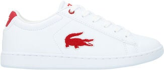 Lacoste Carnaby Evo 318 Sneaker, White/Red