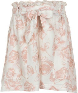 Creamie Roses Shorts, Cloud