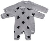 Tiny Treasure Maxime Overall  2er-Pack, Grey Melange