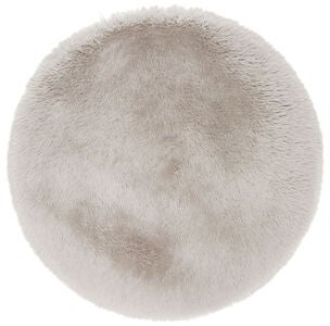 Alice & Fox Teppich Fake Fur, Silver