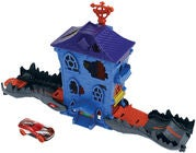 Hot Wheels City Spielset Nemesis Attack Croc Mansion