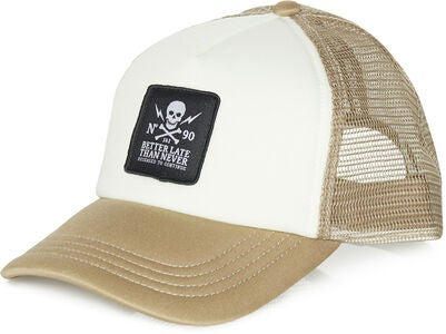 Jack & Jones Skull Trucker Kappe, Olive Night