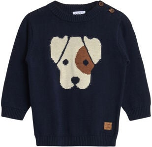Hust & Claire Pilou Pullover, Navy