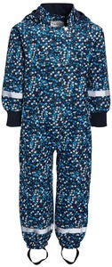 Luca & Lola Elsa Outdoor-Overall, Navy/Flowers