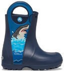 Crocs Fun Lab Shark Gummistiefel, Navy