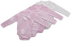 Tiny Treasure Alexie Body 4er-Pack, Chalk Pink