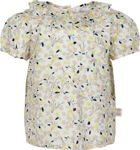 Creamie Sweet Flowers Bluse, Cloud