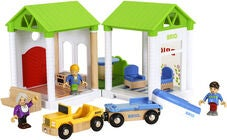 BRIO World 33953 Village Sommerhaus