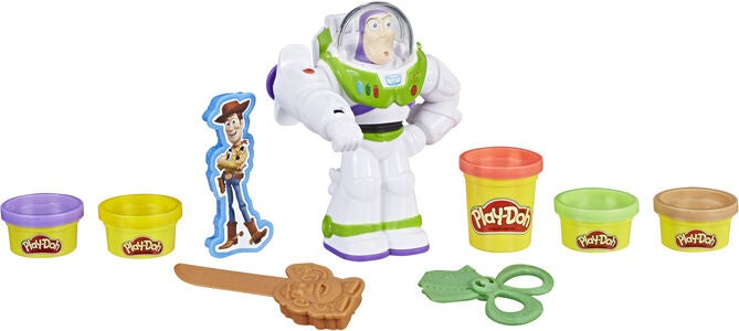 Play-Doh Spielknete und Disney Figur Buzz Lightyear