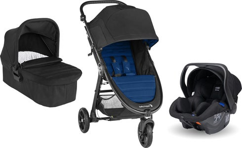 Baby Jogger City Mini GT 2 Buggy inkl. Babyschale, Babywanne & Adapter, Windsor/Black