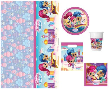 Shimmer 'N Sparkle Partypaket Glitter Party