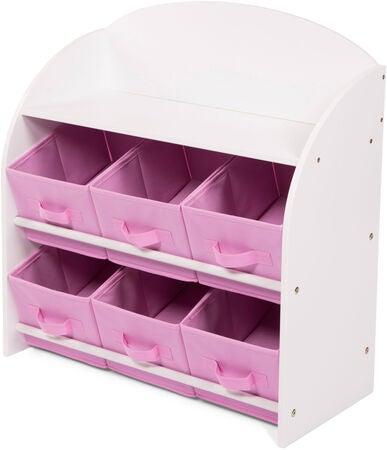 kidkraft regal mit aufbewahrungsboxen für kinderzimmer weiß