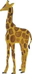 That's Mine Wallsticker Giraffe Baby