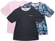 Hyperfied Wave T-Shirt 3er Pack, Leo Black/Fairy Tale/Tropical Flower