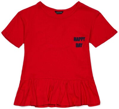 Luca & Lola Alma Top, Red