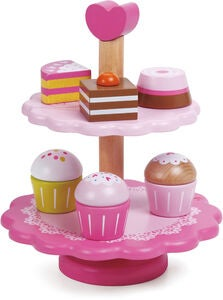 Classic World, Cupcake-Etagere, Rosa