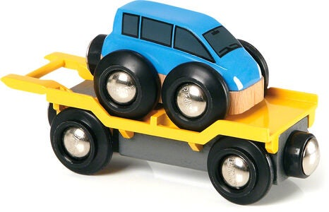 BRIO World 33577 Autotransporter mit Rampe
