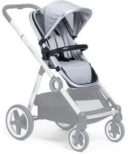 Beemoo Twin Travel+ Geschwistersitz, Light Grey