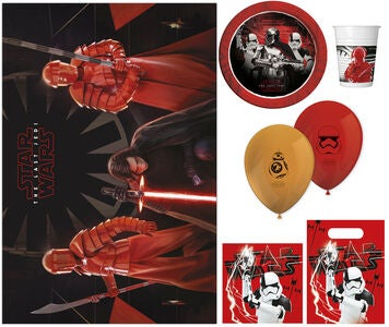 Star Wars Partypaket The Last Jedi