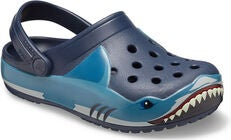 Crocs Shark Fun Lab Lights Clog, Navy