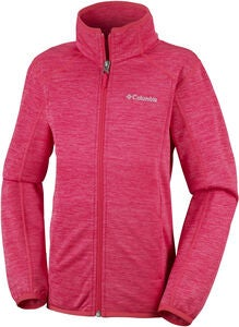 Columbia Wilderness Way Fleecejacke, Red Camellia